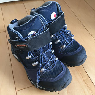 キャラバン(Caravan)のキッズ登山靴 キャラバン 19センチ(登山用品)