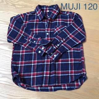 ムジルシリョウヒン(MUJI (無印良品))の120 MUJI 無印良品 ネルシャツ(ブラウス)