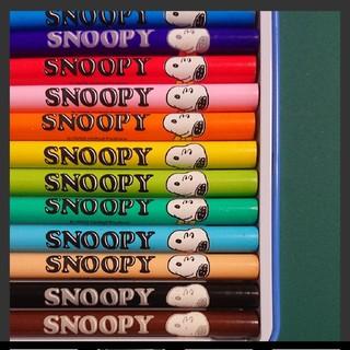 スヌーピー(SNOOPY)のスヌーピー  色鉛筆  新品(色鉛筆)