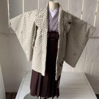 七五三 5歳 着物 JAPAN STYLE 羽織袴 1915 (和服/着物)