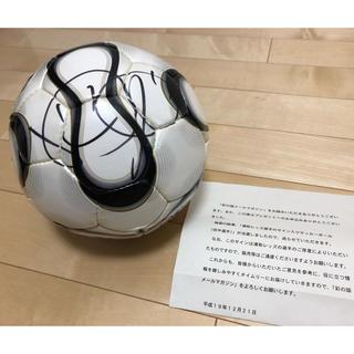 アディダス(adidas)の元サッカー日本代表 直筆サインボール(スポーツ選手)