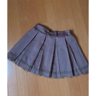リズリサ(LIZ LISA)のリズリサ penderie プリーツスカート 新品未使用(ミニスカート)