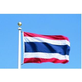 タイランドThailand国旗 泰國 タペストリー150X90cm(ロールスクリーン)