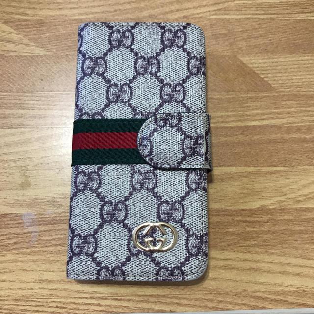 6s ケース マークバイ | Gucci - GUCCI風iPhoneケースの通販 by momoha's|グッチならラクマ