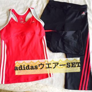 アディダス(adidas)の確認中【11/26(月)〜タイムSALE】アディダスウエアーセット adidas(その他)