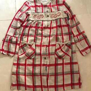 パプ(papp)のチェニックシャツ 140 女の子(Tシャツ/カットソー)