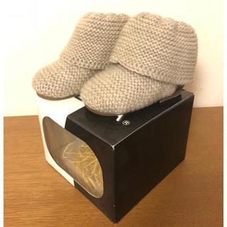 ケイカ(KEiKA)の【新品未使用】ベビーブーツ ニット 13センチ ファーストシューズ(ブーツ)