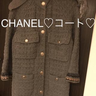 シャネル(CHANEL)のCHANEL♡コート♡期間限定価格!お値下げしました‼️(ロングコート)