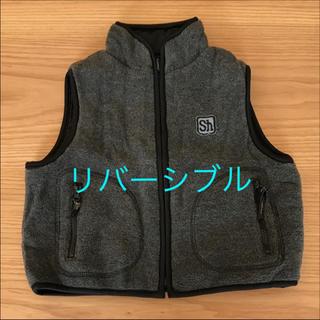 シャマ(shama)のShama Maruta リバーシブルベスト  90cm(ジャケット/上着)