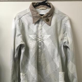 エム(M)のBURNOUT クロスドアロー チェックシャツ(シャツ)