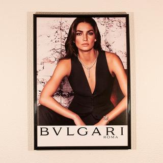 BVLGARI ブルガリ インテリアポスター A4サイズ額縁付き B2008(ポスターフレーム )