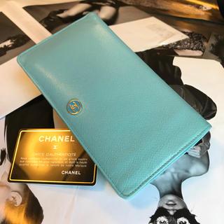 シャネル(CHANEL)の◆ 正規品 ◆ CHANEL ◆ 美品 ◆ ココボタン ◆ 長財布 ◆(財布)