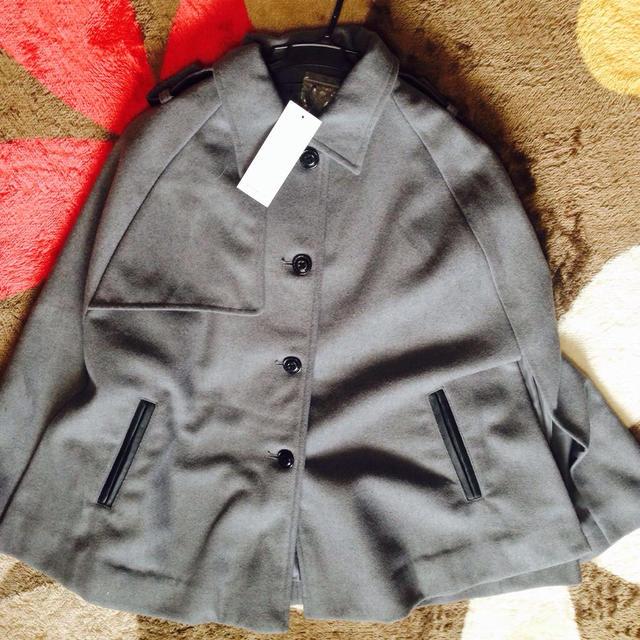 ポンチョコート レディースのジャケット/アウター(ポンチョ)の商品写真