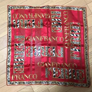 ジャンフランコフェレ(Gianfranco FERRE)のGianfranco FERRE スカーフ、ハンカチーフ(バンダナ/スカーフ)
