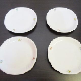 オオクラトウエン(大倉陶園)の◇未使用 OKURA CHINA オオクラチャイナ 皿 4枚セット◇(食器)