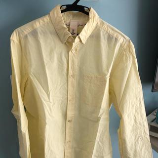 エイチアンドエム(H&M)のH&M シャツ 黄色 Sサイズ(シャツ)