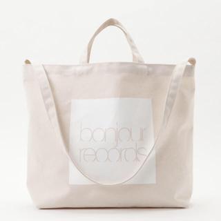 ボンジュールレコーズ(bonjour records)の❤︎ Bonjourrecords 2WAYトート ❤︎(トートバッグ)
