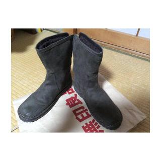 ムジルシリョウヒン(MUJI (無印良品))の折り返し ショートブーツ 無印(ブーツ)