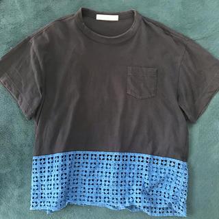 サカイラック(sacai luck)のsacai luck 半袖Tシャツ size:2(Tシャツ(半袖/袖なし))