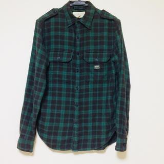 デニムアンドサプライラルフローレン(Denim & Supply Ralph Lauren)のDENIM&SUPPLY デニム&サプライ ユニオンジャック柄 ネルシャツ XS(シャツ)