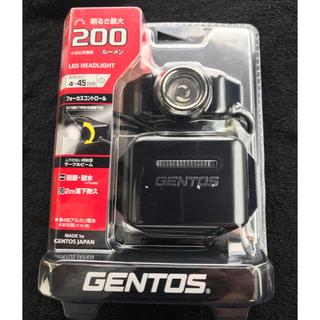 ジェントス(GENTOS)の送料込! 新品 GENTOS ジェントス LEDヘッドライト DH-001DB(ライト/ランタン)