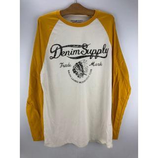 デニムアンドサプライラルフローレン(Denim & Supply Ralph Lauren)のデニム & サプライ ラルフローレン 長袖Tシャツ メンズ M(Tシャツ/カットソー(七分/長袖))
