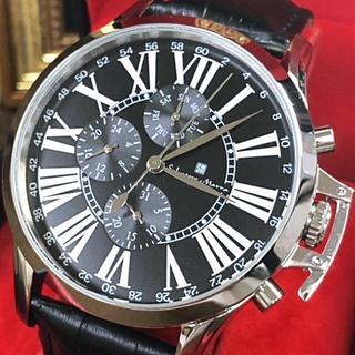 サルバトーレマーラ(Salvatore Marra)のサルバトーレマーラ クォーツ 腕時計 メンズ 保証書付 正規品 レザーベルト(腕時計(アナログ))