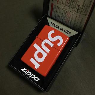 Supreme - 【新品未使用18ss】Supreme:Logo Zippo ロゴ ジッポ