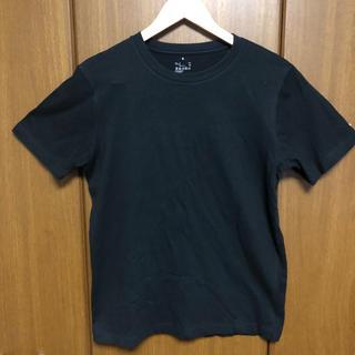 MUJI (無印良品) - 【処分価格】無印良品 半袖Tシャツ 黒