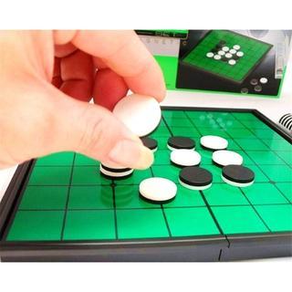 マグネット リバーシ 定番テーブルゲーム コンパクト収納(オセロ/チェス)