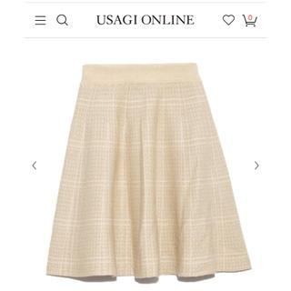 リリーブラウン(Lily Brown)のlilybrown♡スカート(ひざ丈スカート)