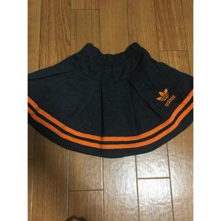 アディダス(adidas)の子供服 アディダスデニムスカート(スカート)