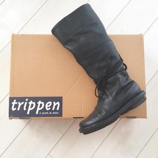 トリッペン(trippen)の美品☆TRIPPENトリッペンロングブーツ 37(ブーツ)