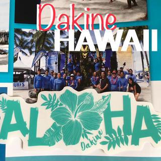 ダカイン(Dakine)のダカインDAKINE hawaii限定alohaデザインステッカー(サーフィン)
