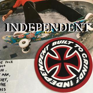 インディペンデント(INDEPENDENT)のINDEPENDENTインディートラックUS限定グラインドアイコンステッカー(スケートボード)