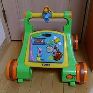ディズニー(Disney)のよくばりウォーカーライダー くまのプーさん(手押し車/カタカタ)