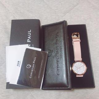 クリスチャンポー(CHRISTIAN PEAU)の新品未使用 定価16740円 クリスチャンポール 腕時計(腕時計)
