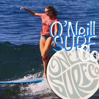 オニール(O'NEILL)のO'NEILLオニールUS限定surfデザインサークル ステッカー(サーフィン)