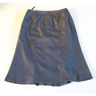 エマジェイム(EMMAJAMES)のemma james エマジェイムス スカート スーツ タイトスカート グレー(ひざ丈スカート)