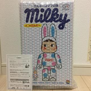 MEDICOM TOY - R@BBRICK 着ぐるみ ペコちゃん ミルキー 100% & 400%