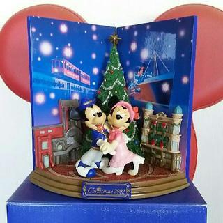 ディズニー(Disney)の☆25日までの限定価格【TDSハーバーサイド☆クリスマス2002 ☆フィギュア】(キャラクターグッズ)