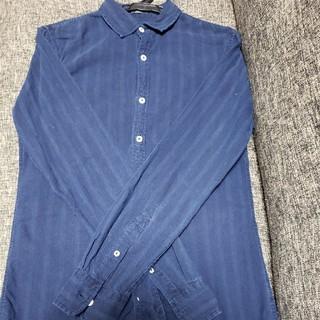 デンハム(DENHAM)のデンハム インディゴ染めシャツ 美品(シャツ)