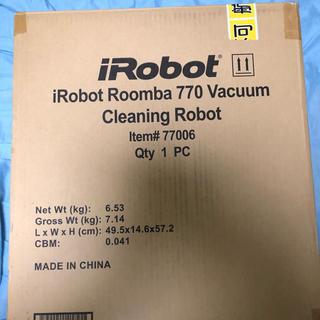 アイロボット(iRobot)のルンバ770 未使用品(掃除機)