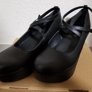 ユメテンボウ(夢展望)の厚底シューズ(ローファー/革靴)