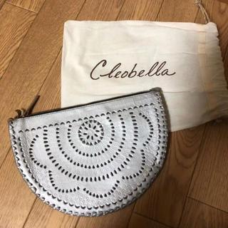 クレオベラ(Cleobella)の美品 cleobella セレブ愛用 クラッチバッグパーティバッグ レザーバッグ(クラッチバッグ)