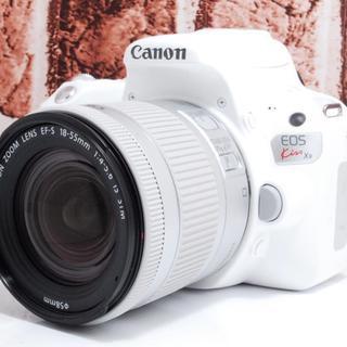 キヤノン(Canon)の❤️新品級❤️EOS Kiss X9 レンズセット ホワイト❤️ (デジタル一眼)