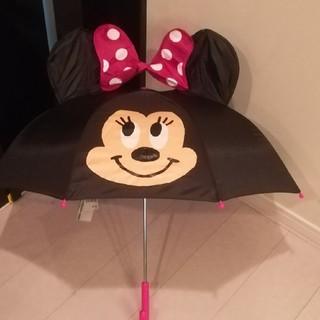 ディズニー(Disney)のミニー 耳付き傘 47cm(傘)