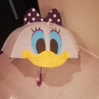 ディズニー(Disney)のデイジー リボン付き傘 47cm(傘)