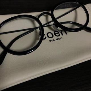 コーエン(coen)の新品 coen 伊達眼鏡(サングラス/メガネ)