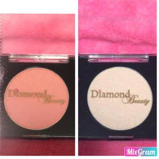 ダイヤモンドビューティー(Diamond Beauty)の35%OFF!新品未使用♡チーク♡ハイライトの2点セット(その他)